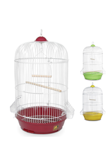 """Bird (W) PH Small Round Bird Cage - Assorted Colors - Multipack - 12.75"""" dia x 26"""""""