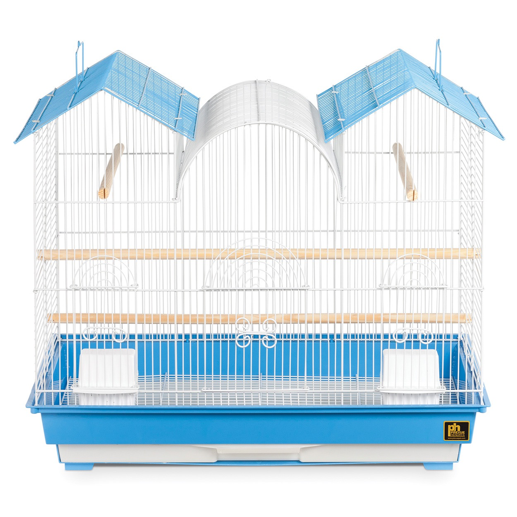 "Bird (W) PH Triple Roof Bird Cage - Assorted Colors - Multipack - 26"" x 14"" x 22.5"""