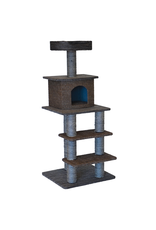 Dog & cat (W) Cat Tree Scratcher - Multi Level - 51""