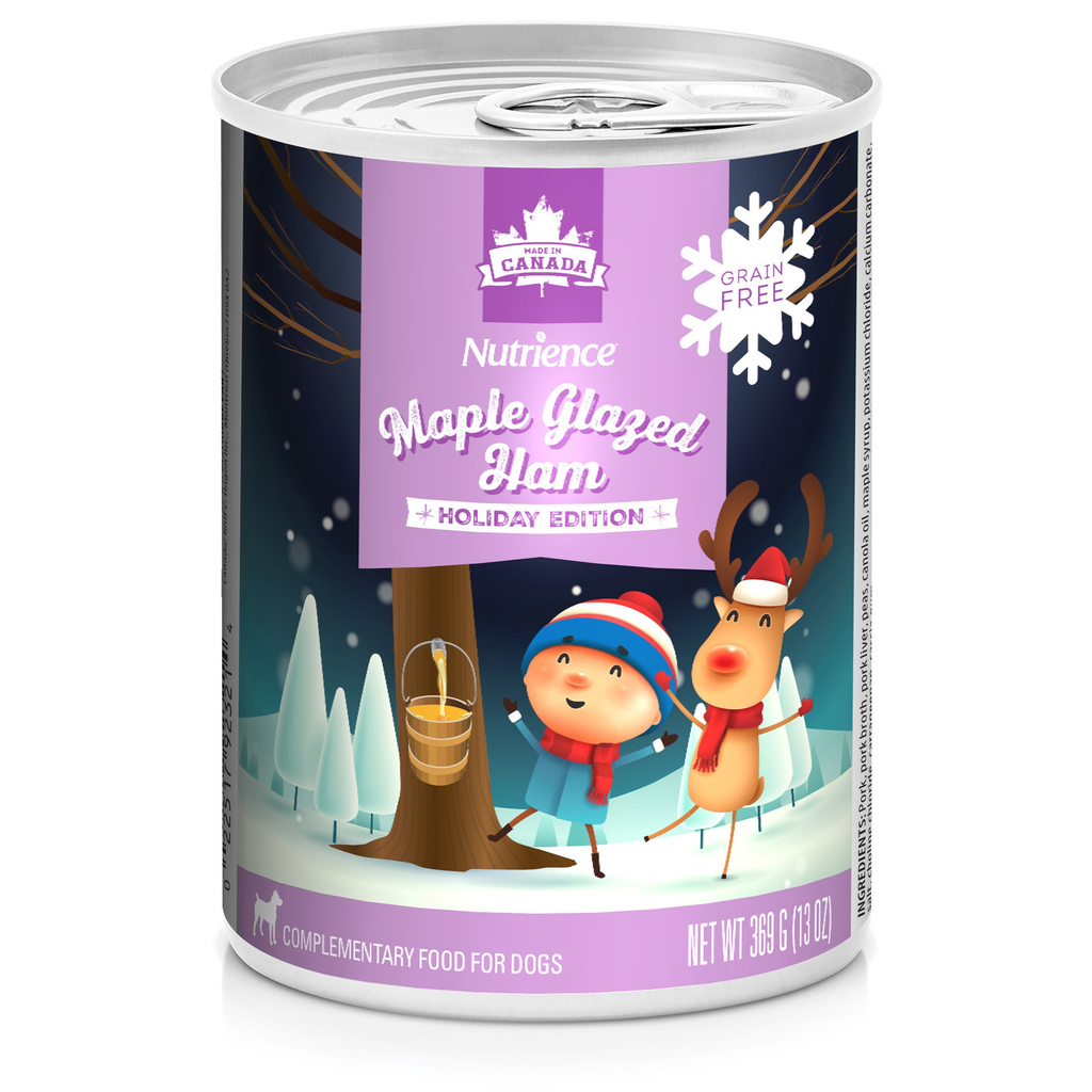 Dog & cat (D) NT Holiday Cans, Maple Glazed Ham, 369g