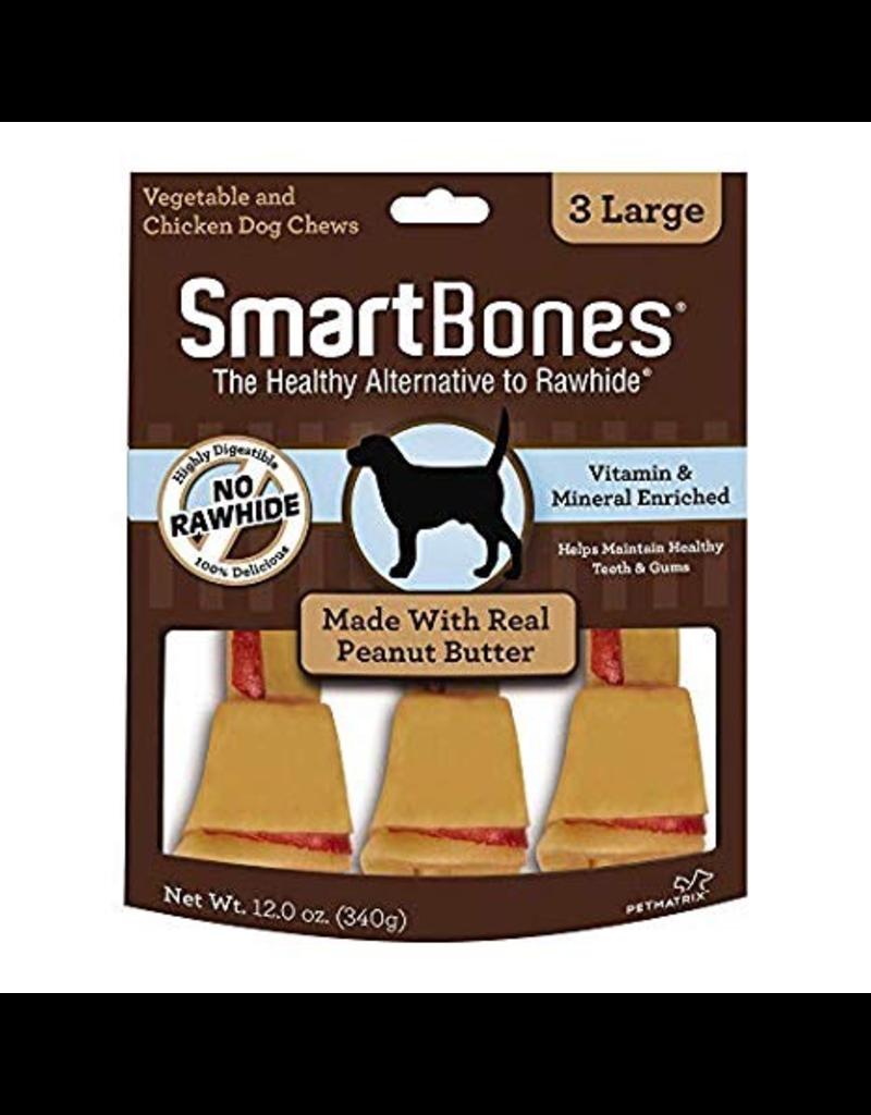 Dog & cat Smart Bones Peanut Butter Large 3 Pack