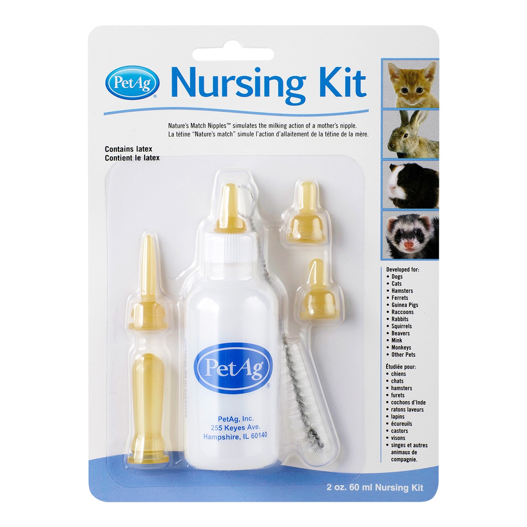 Dog & cat PetAg Nursing Kit - 2 oz