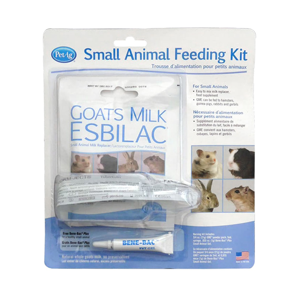 Small Animal PetAg Small Animal Feeding Kit - Goats Milk Esbilac