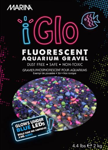 Aquaria Marina iGlo Galaxy Gravel, Multi-Colour, 2 kg