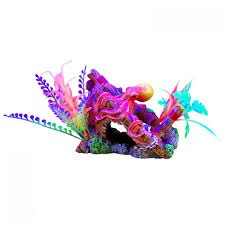 Aquaria Marina iGlo Ship's Bow with Octopus and Plants, 4""