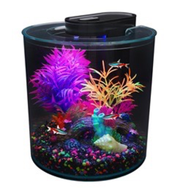 Aquaria Marina iGlo 360° Aquarium Kit, 2.65 gal.