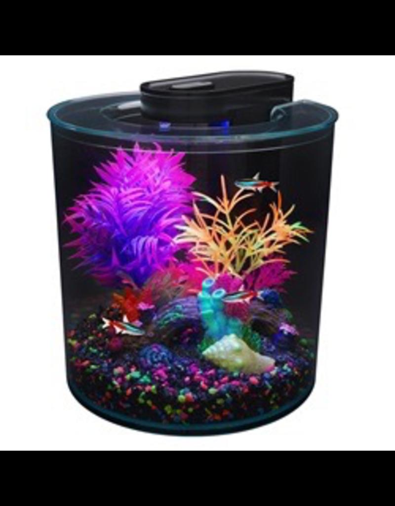 Aquaria Marina iGlo 360° Aquarium Kit, 2.65 gal.