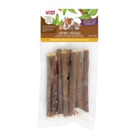 "Small Animal Living World Small Animal Chews, Neem Wood Sticks, 10 pcs, 4"""