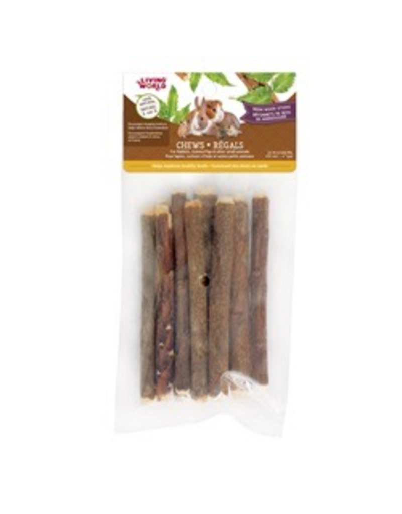 Small Animal Living World Small Animal Chews, Neem Wood Sticks, 10 pcs, 4""
