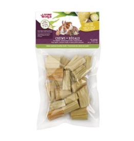Small Animal Living World Small Animal Chews, Sugar Cane Stalk Cubes, 40 g