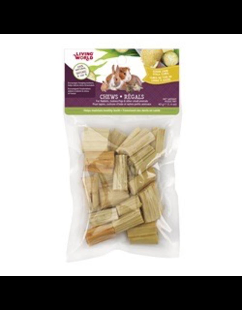 Small Animal Living World Small Animal Chews, Sugar Cane Stalk Cubes, 40 g