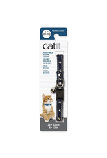 Dog & cat Catit Adjustable Breakaway Nylon Collar with Rivets - Blue Nautical - 20-33 cm (8-13 in)