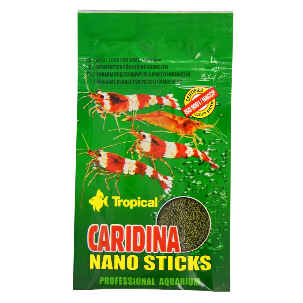 Aquaria (W) Tropical Caridina Nano Sticks Dwarf Shrimp Diet - 10 g