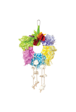 Bird PH Calypso Creations Ropes & Shell Ring - Multi-color