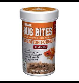 Aquaria Fluval Bug Bites Goldfish Flakes, 45 g