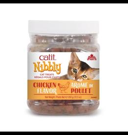 Dog & cat Catit Nibbly Cat Treats - Chicken Flavour - 350 g (12.3 oz) jar