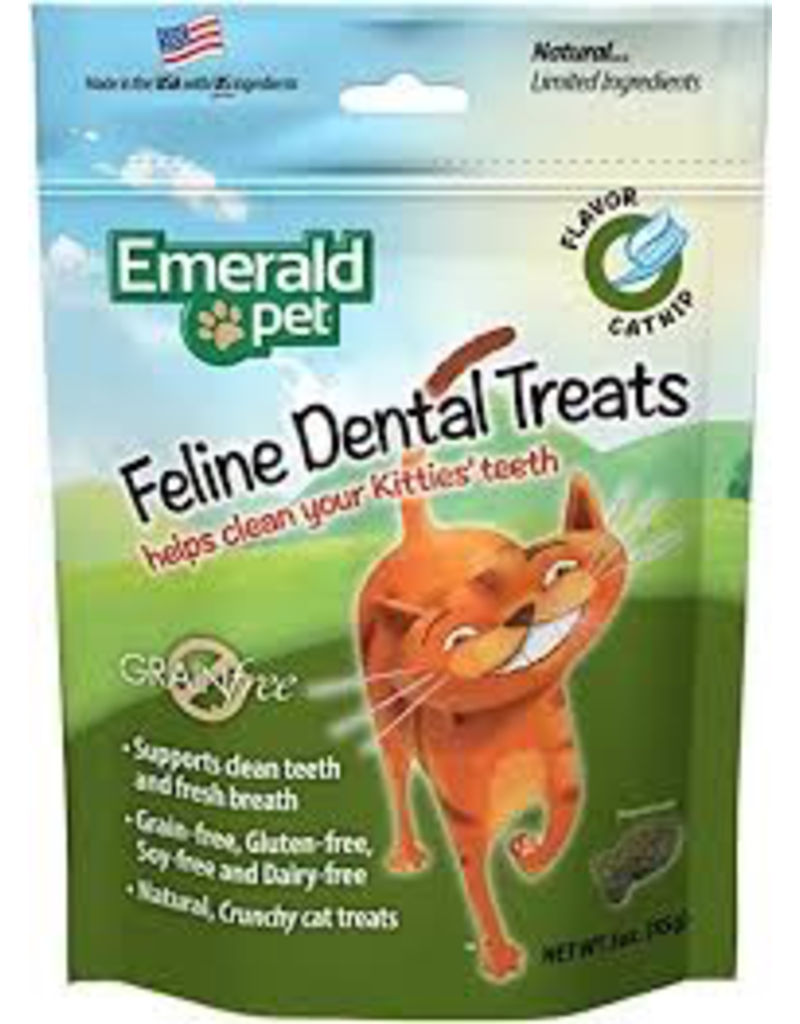 Dog & cat Cat Dental Treat 3oz - Catnip