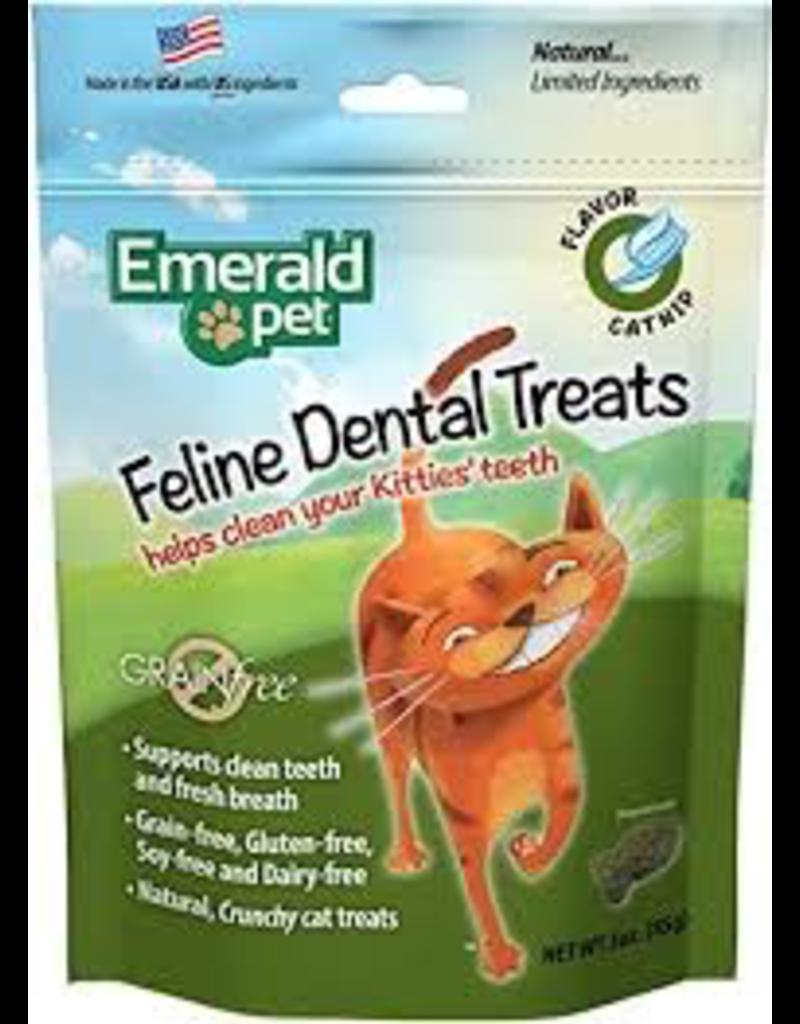 Dog & cat (W) Cat Dental Treat 3oz - Catnip