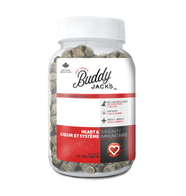 Dog & cat Buddy Jack's Functional Dog Treats - Heart and Immunity - 12 oz