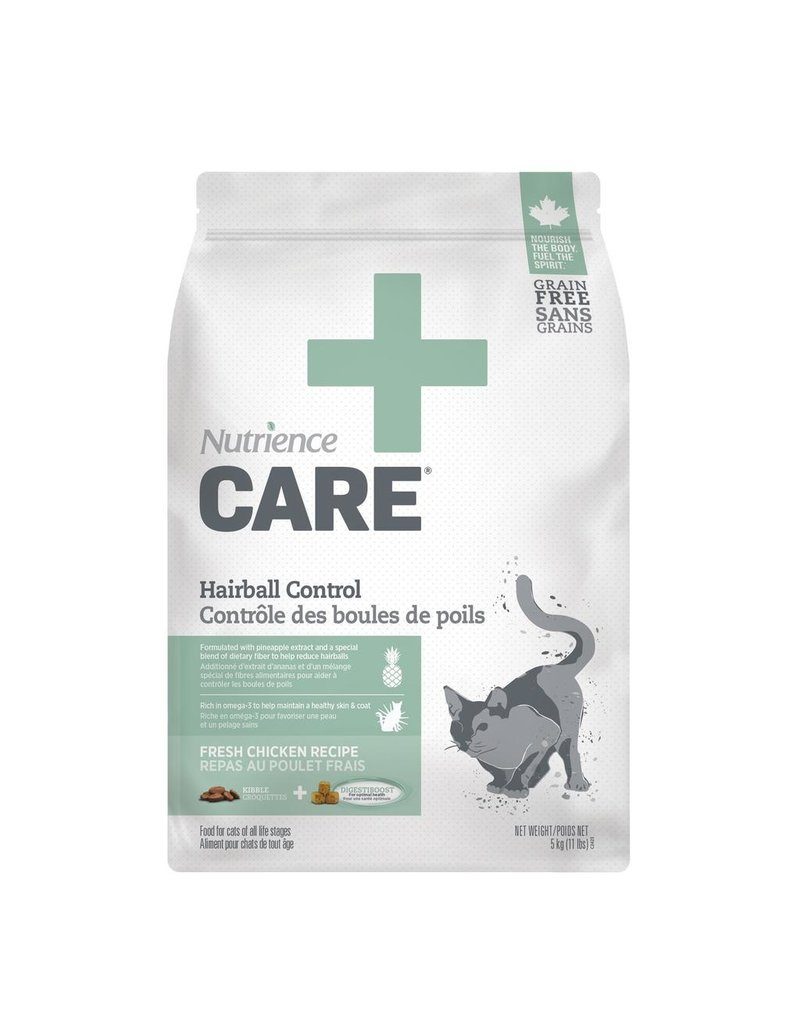 Dog & cat Nutrience Care Cat Hairball Control, 5kg