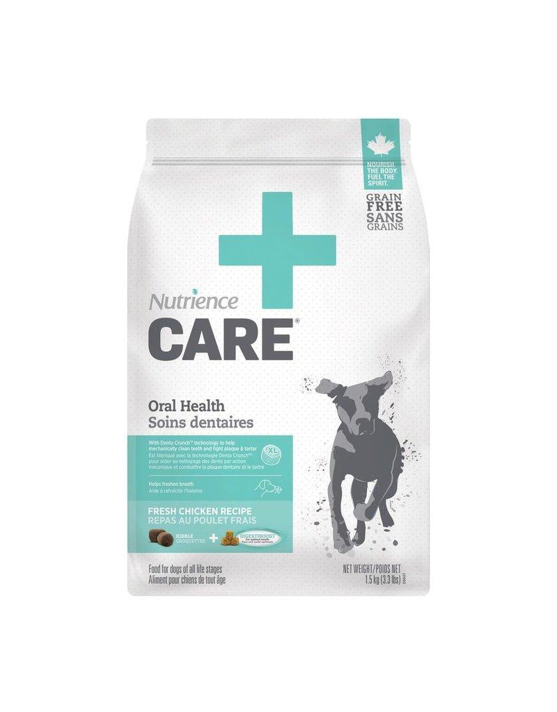 Dog & cat Nutrience Care Dog Oral Health, 1.5kg