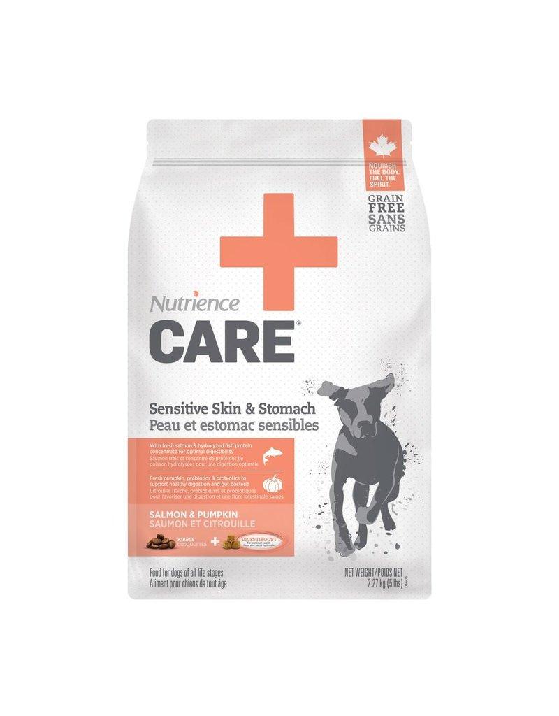 Dog & cat Nutrience Care Dog Sensitive Skin& Stomach, 2.27kg