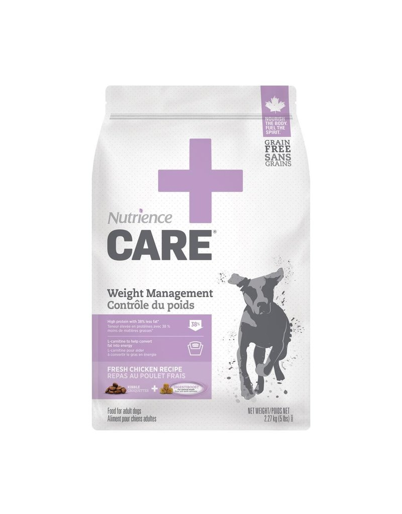 Dog & cat Nutrience Care Dog Weight Management, 2.27kg
