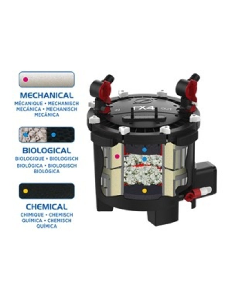 Aquaria (P) Fluval FX4 High Performance Canister Filter