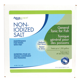 Pond (W) Non-Iodized Pond Salt - 40 lb