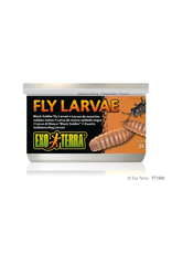 Reptiles Exo Terra Canned Black Solider Fly Larvae - 34 g (1.2 oz)