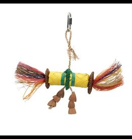 Bird (D) HARI Rustic Treasures Bird Toy Buri Wrap Color - Small