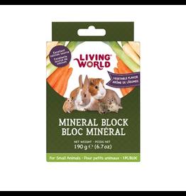 Small Animal LW SmAnim Mineral Block, Veg, 190g