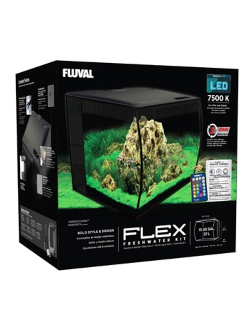 Aquaria Fluval FLEX Aquarium Kit - 57 L (15 US gal)