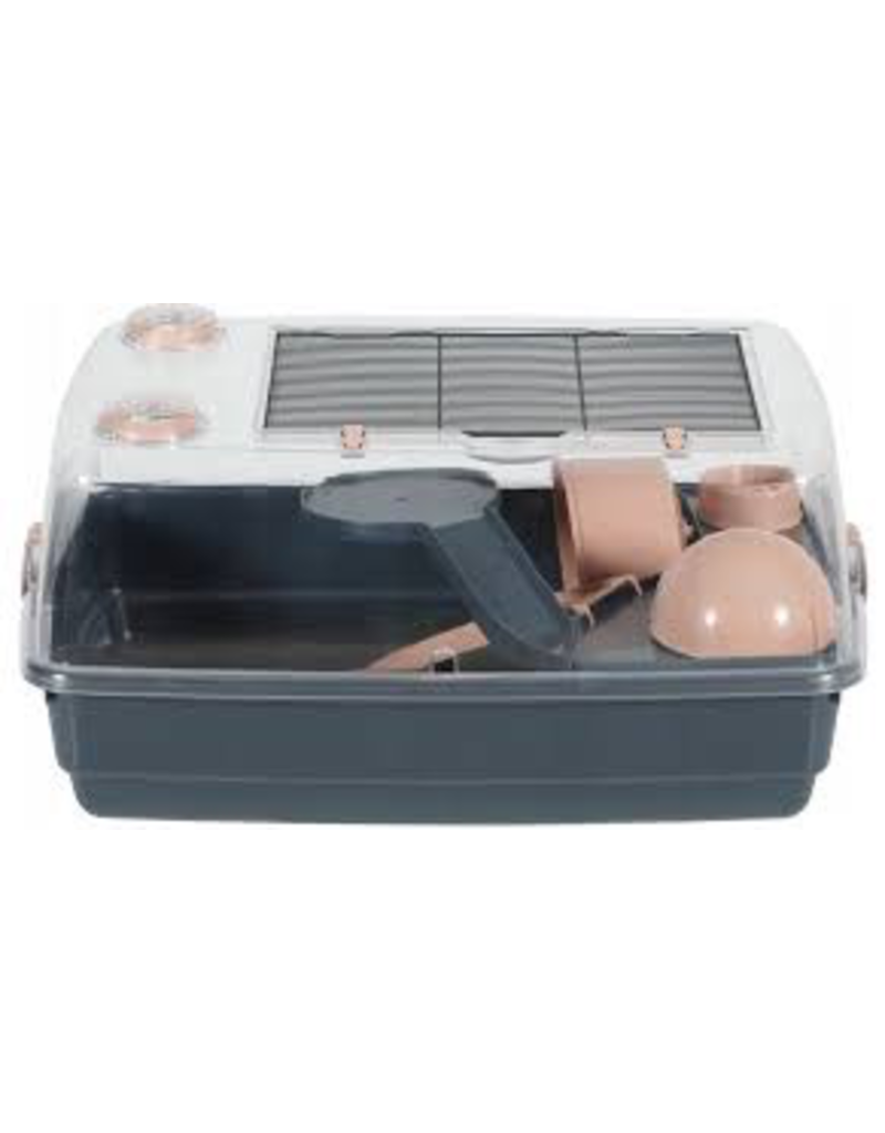 Dog & cat Zolux Indoor2 Vision Cage pink