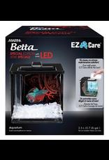 Aquaria Marina Betta Special Edition EZ Care Aquarium - Black - 2.5 L (0.7 US Gal)