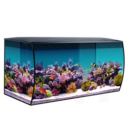 Aquaria (W) Fluval Sea Flex Saltwater Aquarium Kit - 123 L (32.5 US gal) - Black