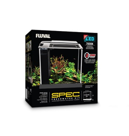 Aquaria Fluval Spec Aquarium Kit - Black - 10 L (2.6 US gal)