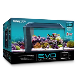Aquaria (W) Fluval Sea EVO Aquarium Kit - 52 L (13.5 US gal)