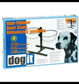 Dog & cat (W) Dogit Adjustable Dog Bowl Stand, Medium, fits 2 x 1.5L (50 oz) bowls