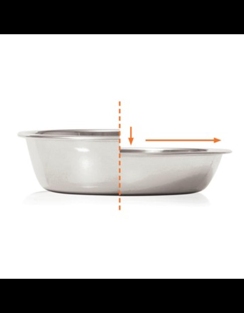 Dog & cat (W) Catit Feeding Single Dish - White - 200 ml (6.83 fl oz)