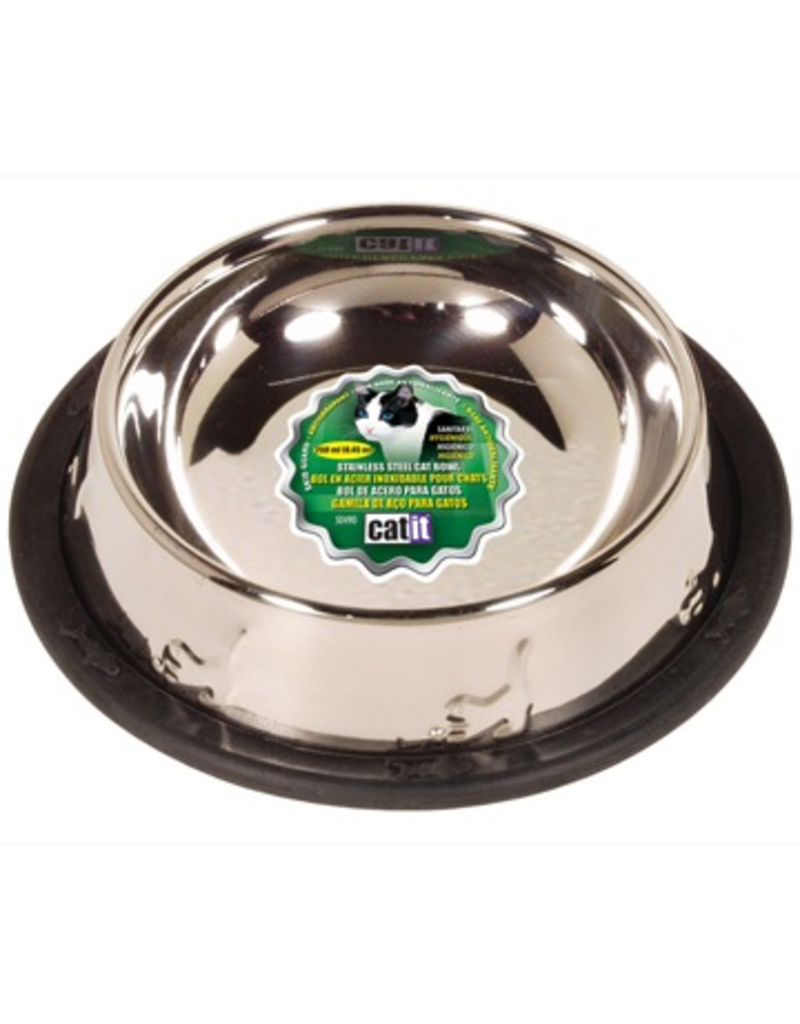 Dog & cat Catit Stainless Steel Non-Spill Dish - Small - 250 ml (8.4 oz)