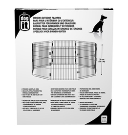 Dog & cat (W) Dogit Outdoor Playpen - Medium - 60 x 76 cm (23.6 x 29.2 in)