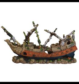 Aquaria (W) UT Shipwreck Schooner - Large