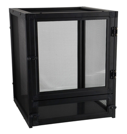 "Reptiles (W) Zoo Med Nano Breeze - Black - 10"" x 10"" x 12"""