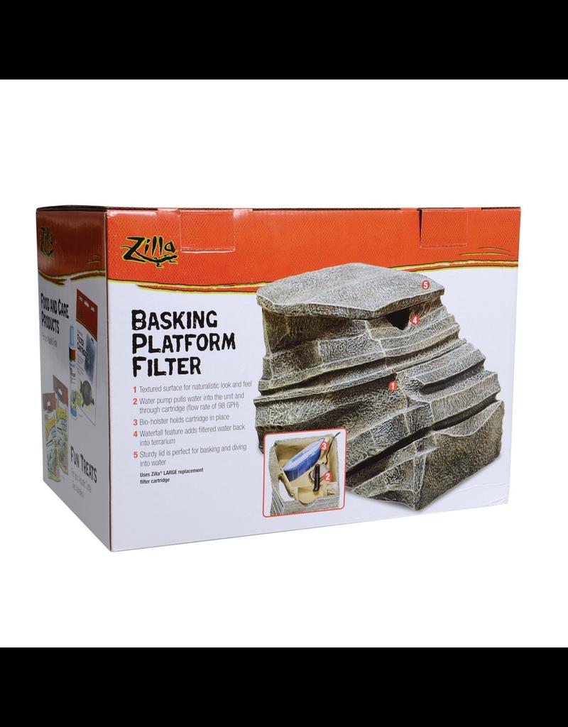 Reptiles (W) Zilla Basking Platform Filter - Large