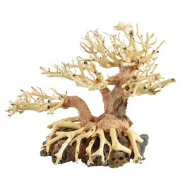 Aquaria UT Bonsai Wood With Rock - Small