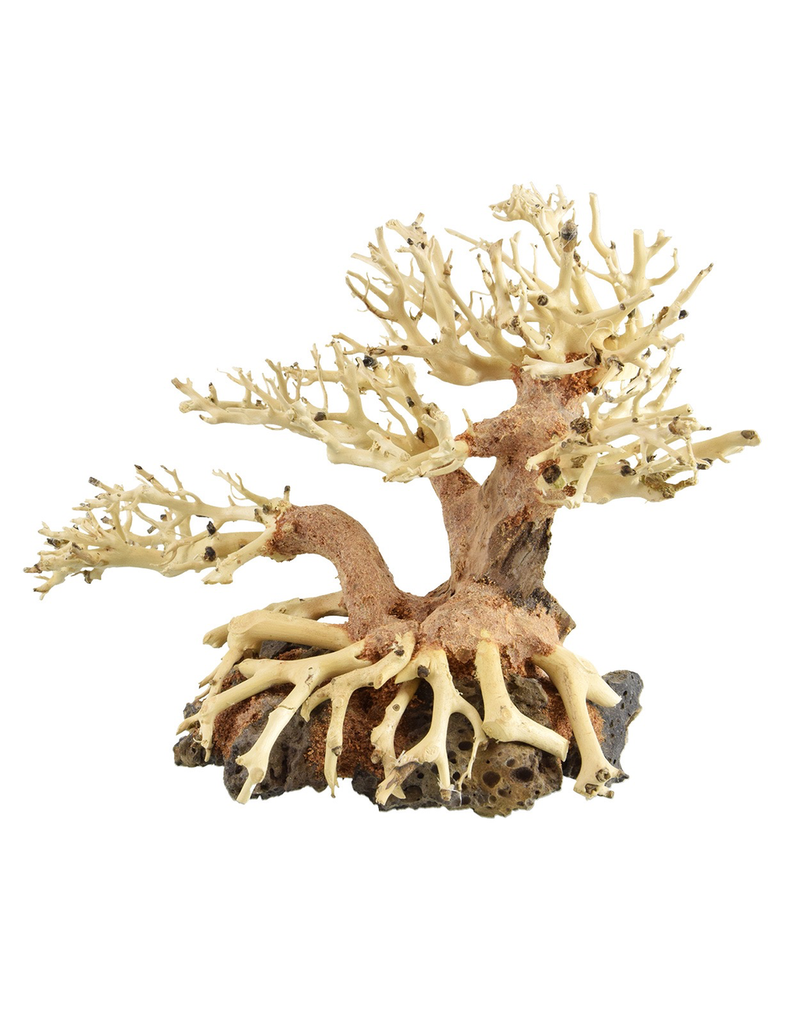 Aquaria UT Bonsai Wood With Rock - Small