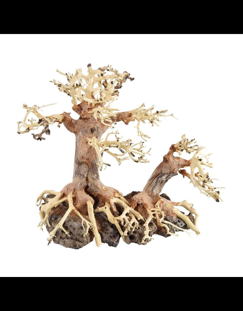 Aquaria (W) UT Bonsai Wood With Rock - Medium