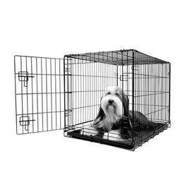 Dog & cat (W) Dogit Single Door Wire Crate - Large - 91 x 56 x 62 cm (36 x 22 x 24.5 in)