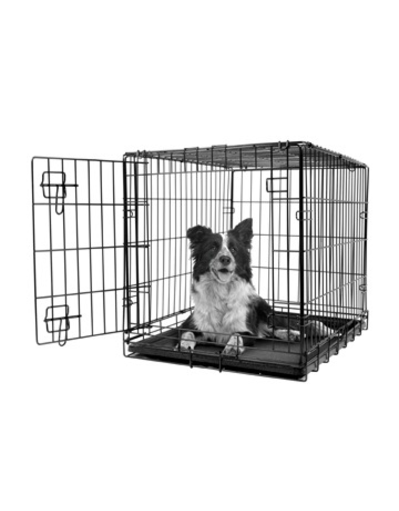 Dog & cat (W) Dogit Single Door Wire Crate - Medium - 77 x 48 x 54.5 cm (30 x 19 x 21.5 in)